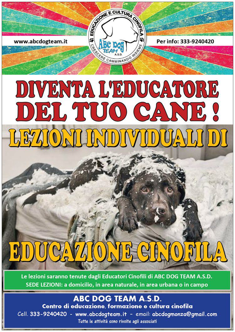 Abc Dog Team Educazione cinofila 2019