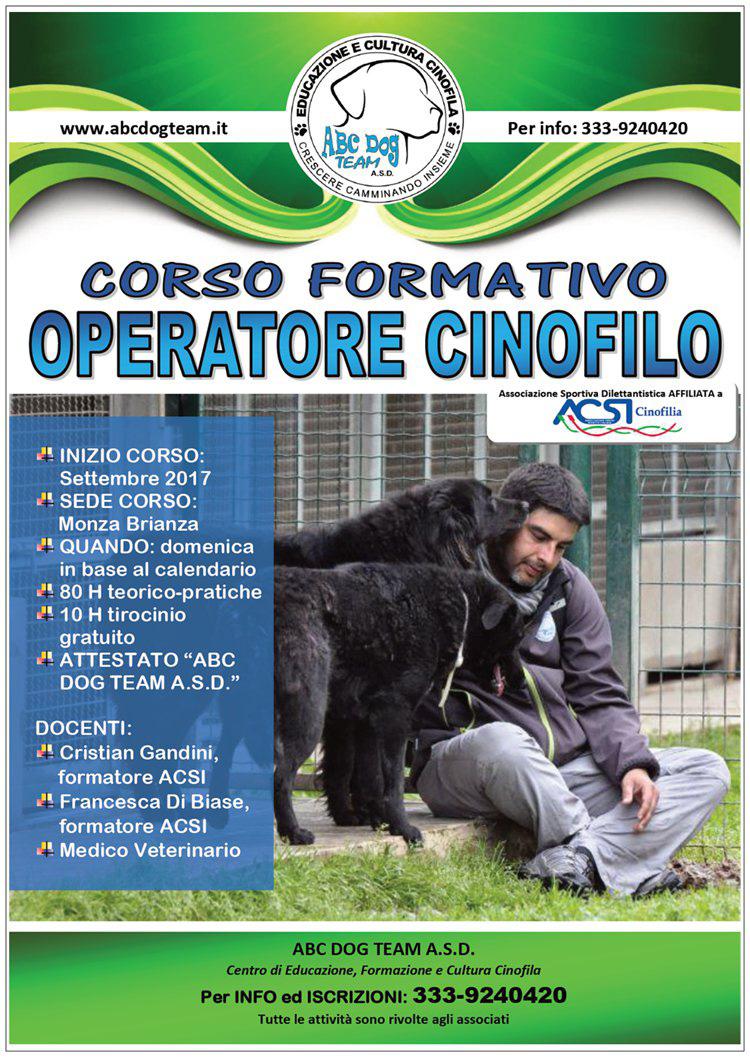 ABC DOG operatore cinofilo 2017