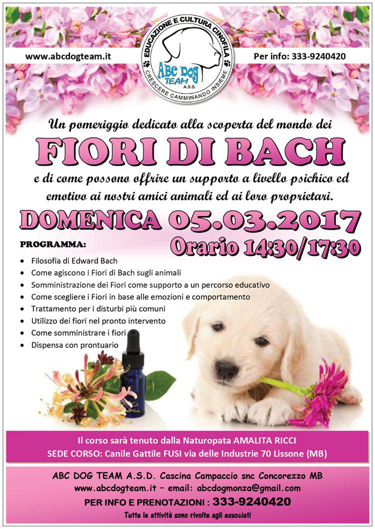 ABC DOG FIORI DI BACH marzo 2017