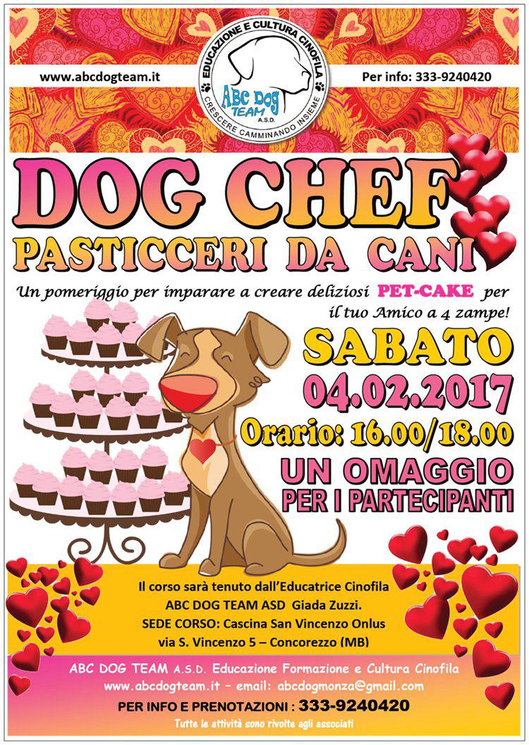 ABC DOG PASSTICCERI CHEF DOG febbraio 2017