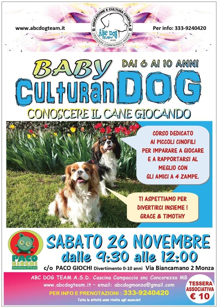 ABC DOG baby culturan dog novembre 2016