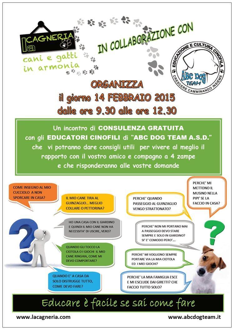 ABC Dog Consulenza cinofila febbraio 2015