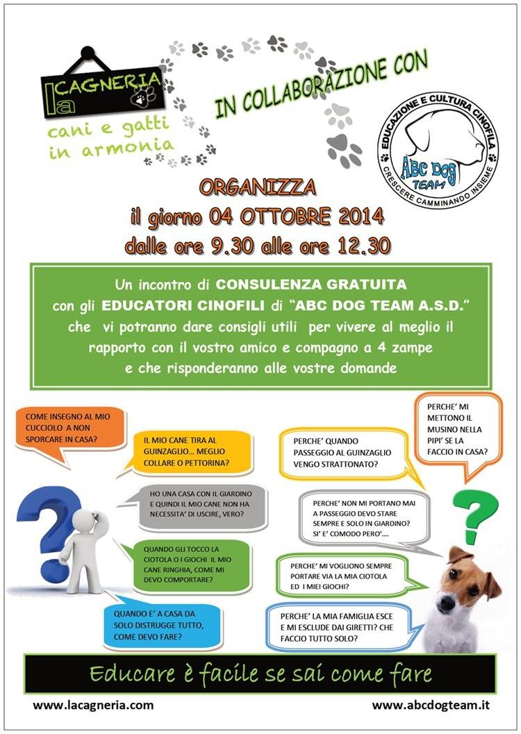 ABC Dog Consulenza ottobre 2014