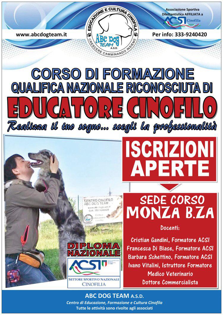 ABC Dog Corso educatore cinofilo