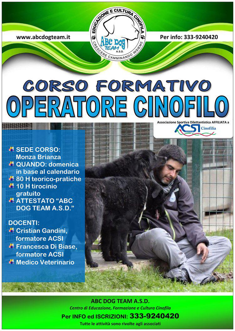 ABC Dog Corso operatore cinofilo