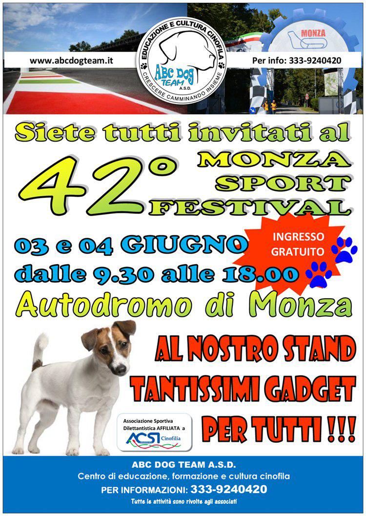 ABC Dog Monza Sport Festival giugno 2017