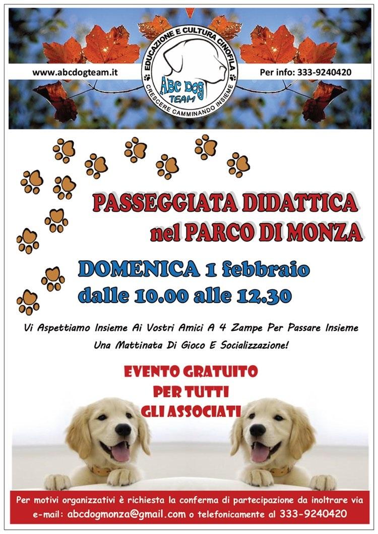 ABC Dog Passeggiata cinofila didattica febbraio 2015