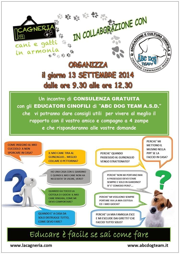 ABC Dog consulenza sett 2014