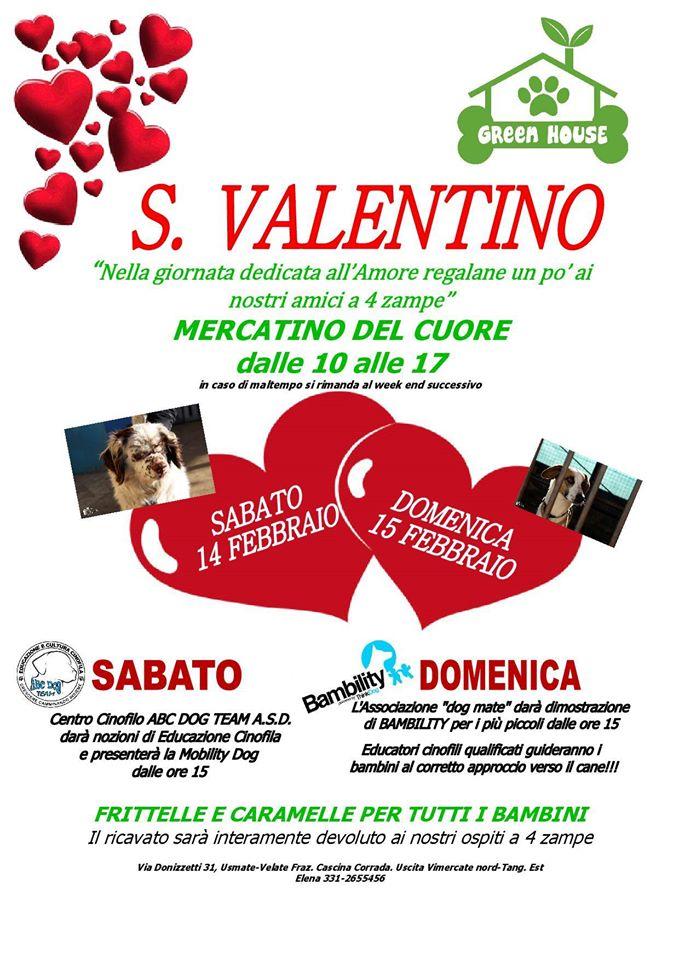 ABC Dog mercatino San Valentino febbraio 2015