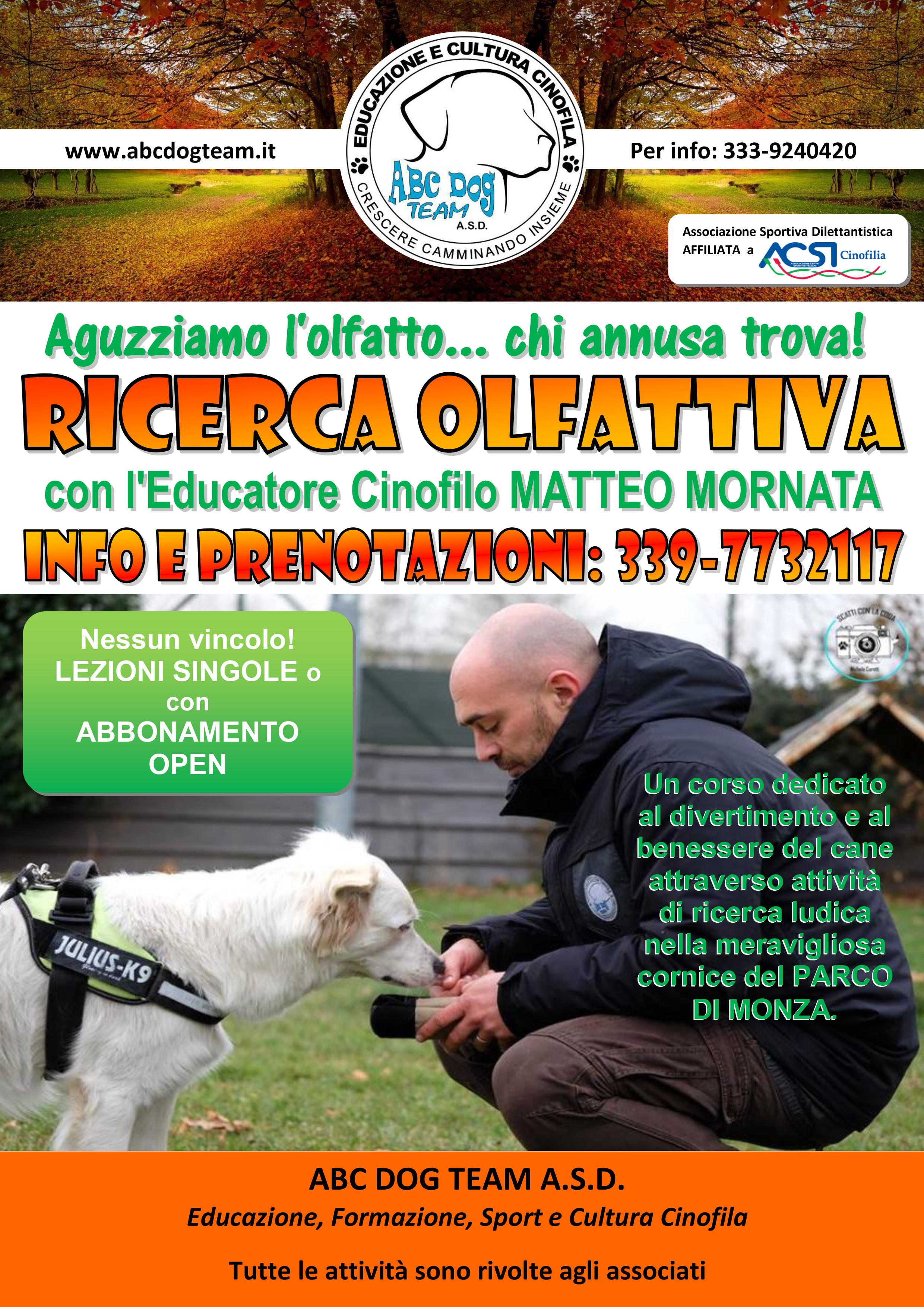 Abc Dog Team RICERCA OLFATTIVA 2019