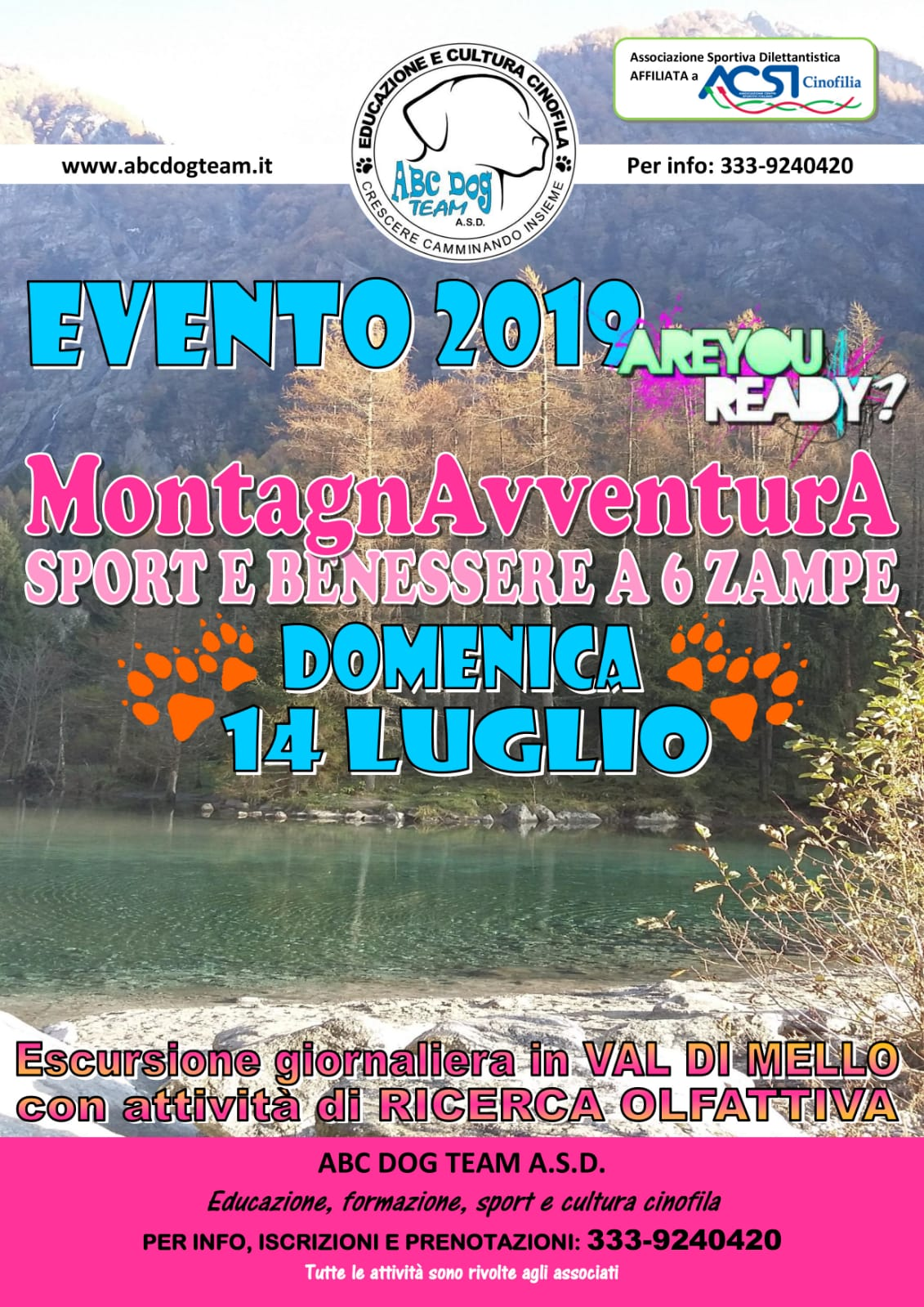 ABC DOG TEAM_Montagnavventura 2019