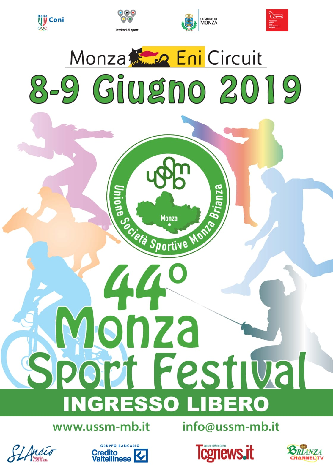 44° Monza Sport Festival - ABC DOG TEAM ci sarà!