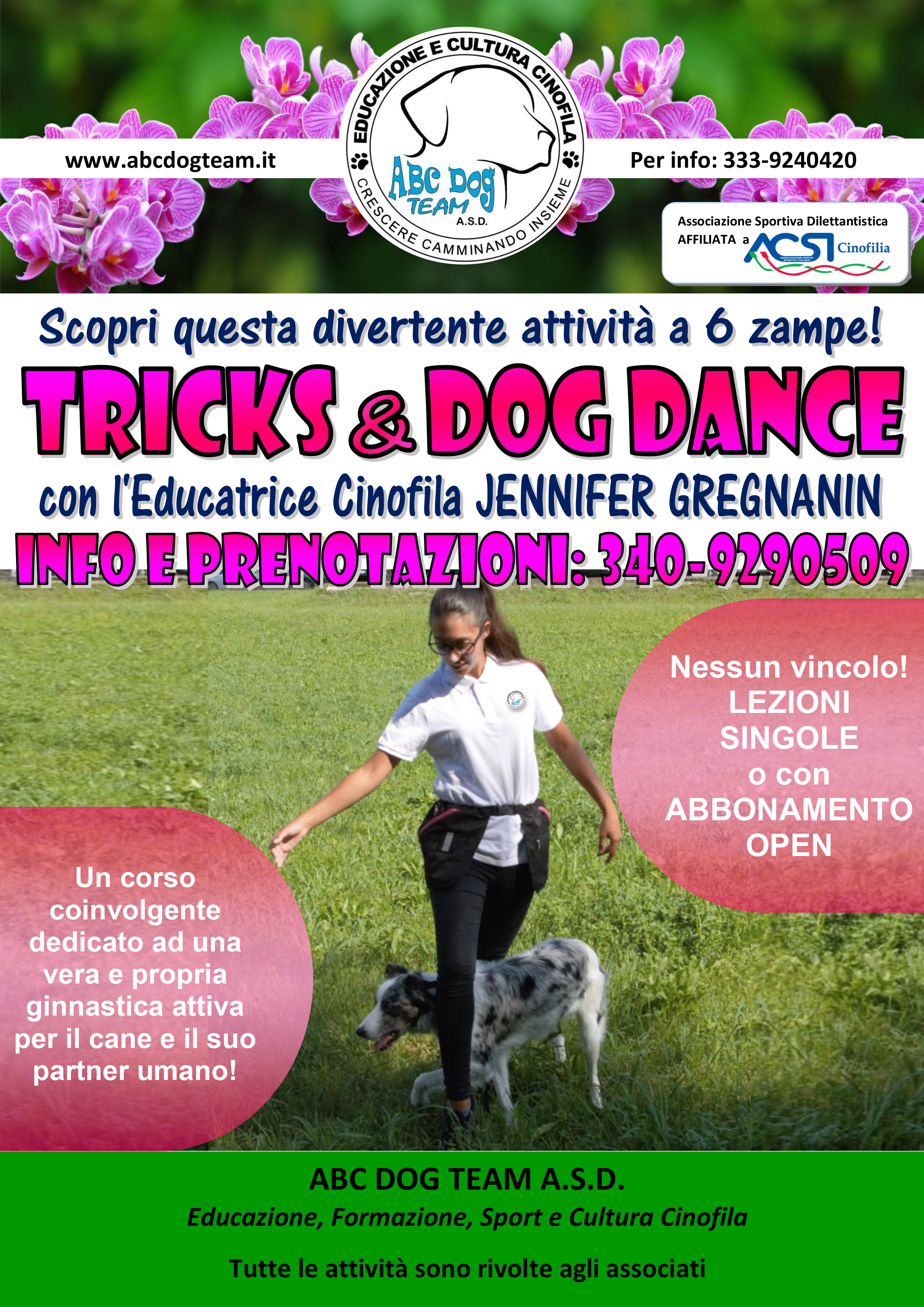Abc Dog Team Tricks e Dog Dance 2019