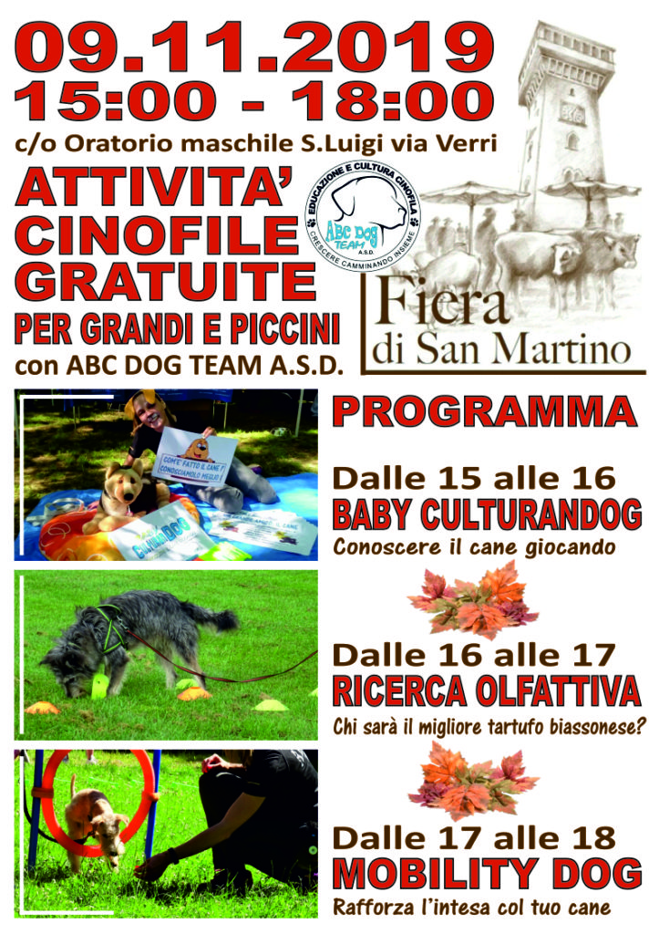 Abc Dog Team Fiera San Martino Biassono 2019