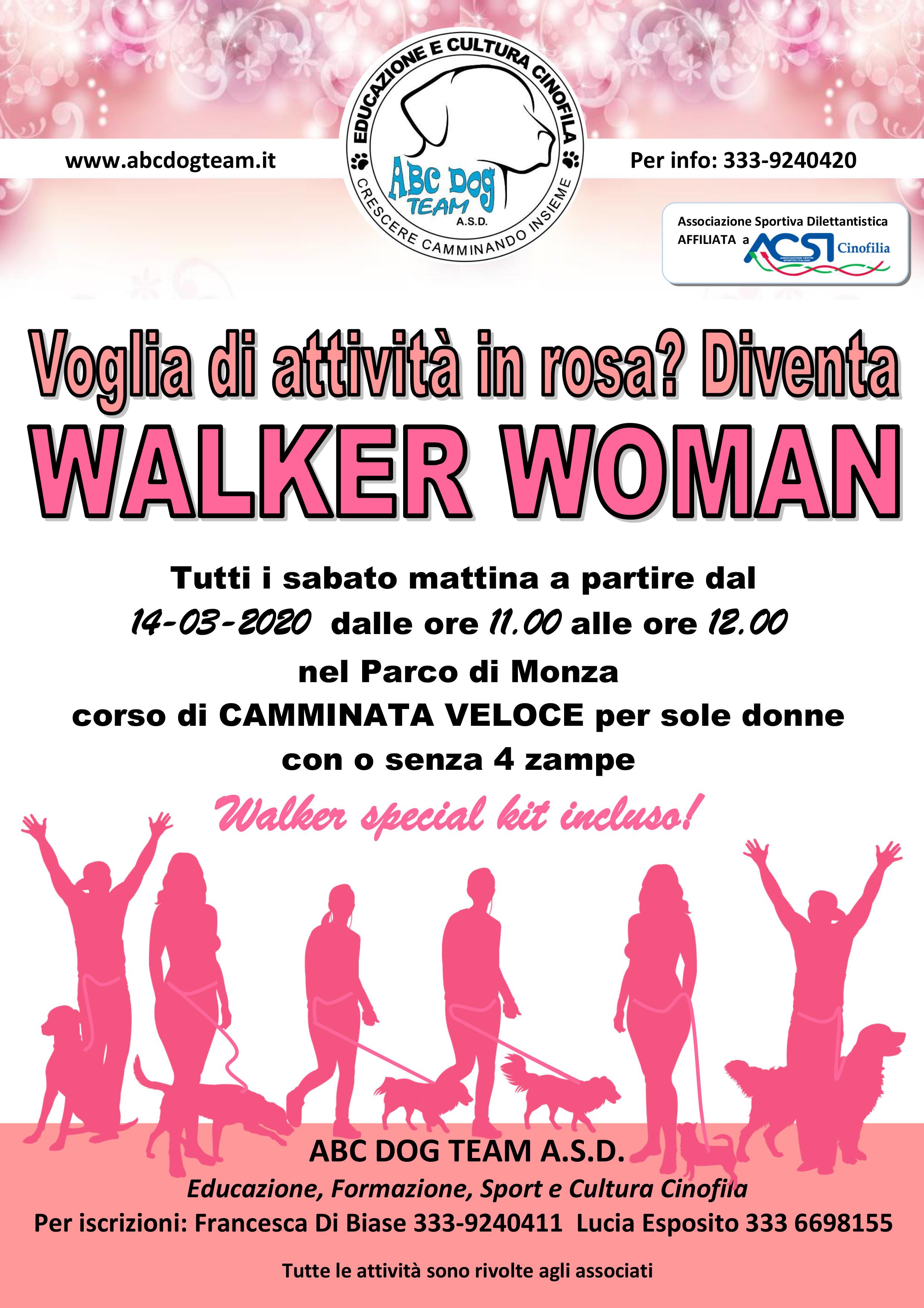 Abc Dog Team WALKER WOMAN 2020