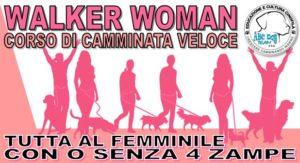 ABC DOG TEAM MONZA WALKER WOMAN ACTIVITY