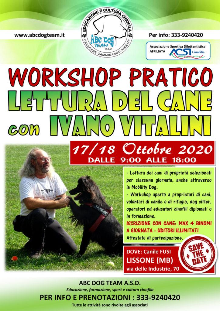 ABC DOG TEAM LETTURA CANI IVANO VITALINI MONZA